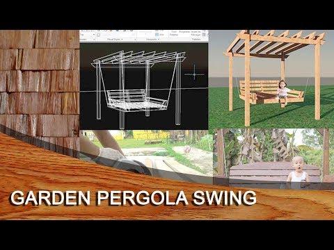 WOODENWORKS - GARDEN PERGOLA SWING - Membuat ayuna kayu