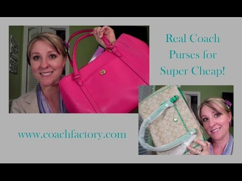 Real Coach Purses for Cheap!!!