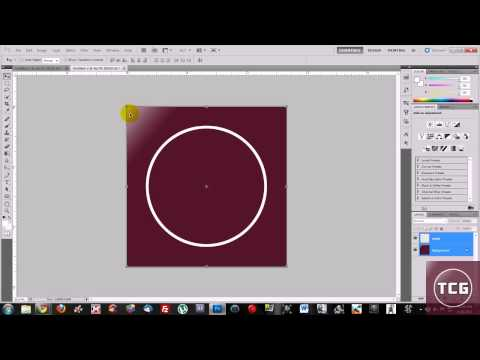[HD] (1080p)How to make a icon/logo with photoshop cs5!