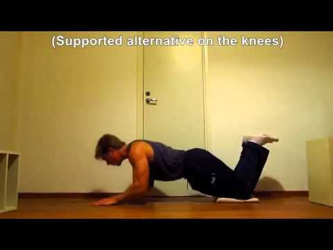 Triceps Workout at Home without weights gym equipment