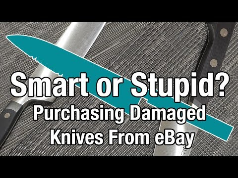 Smart or Stupid? Purchasing Damaged Knives From eBay