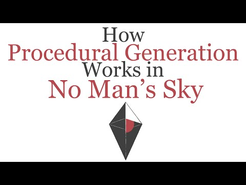 A Quick Explanation on How Procedural Generation Works in No Man's Sky