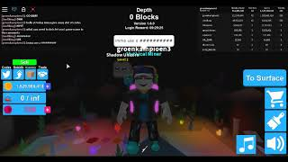 roblox mining simulater give away 1000 omega hat crates