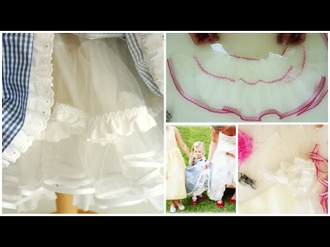 How to sew a Petticoat