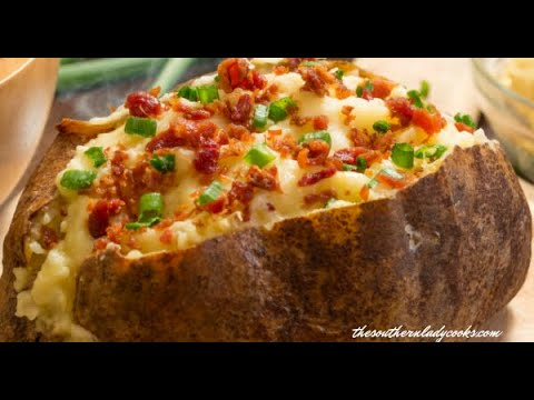 How to Properly Grill A Baked potato!