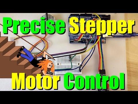 Precise Stepper Motor Control