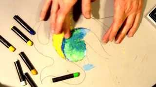 Download Basic Oil Pastel Techniques: Rule of 3's Example Video