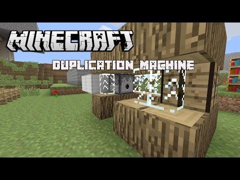 Minecraft: Duplication Machine Tutorial (Xbox 360, PS3, PS4)