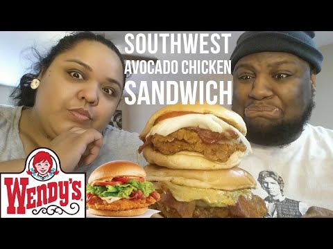 Wendy's Southwest Avocado Chicken Sandwich Food review