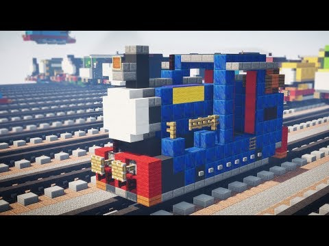 Minecraft Timothy Oil Burning Thomas & Friends Tutorial