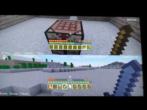 Lets' Play Minecraft PS3 Multiplayer #003