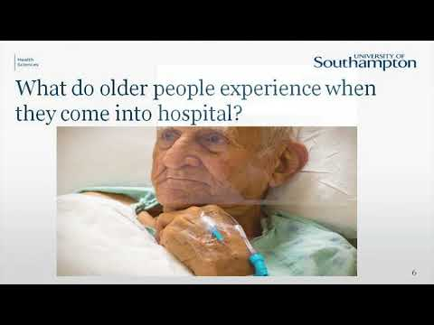 Creating therapeutic environments for older people in hospital