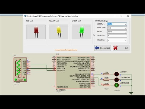 mikroC Pro for PIC Tutorial -24- Project 3 Controlling a PIC from a PC GUI, part 2: Setup
