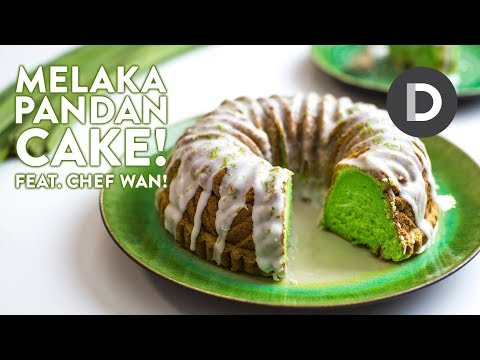 Pandan Cake Recipe Feat. CHEF WAN!