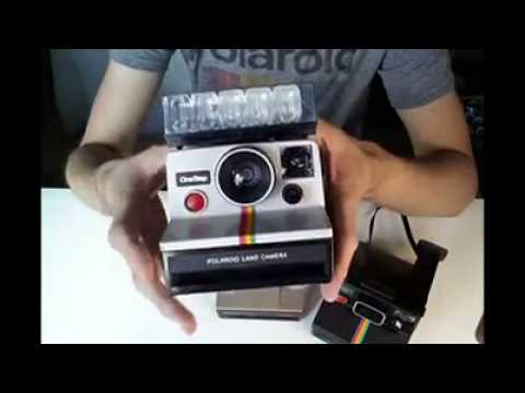 An Intro to the Rigid Bodied Polaroid SX 70 Cameras by The Instant Camera Guy x FilmNeverDie