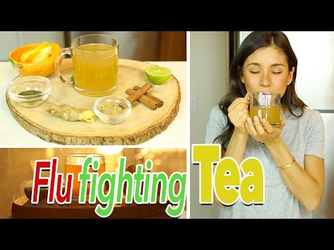 Cold, Flu, Cough and Sore Throat Remedy Tea