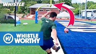 Top 10 AMAZING Football Trick Kicks