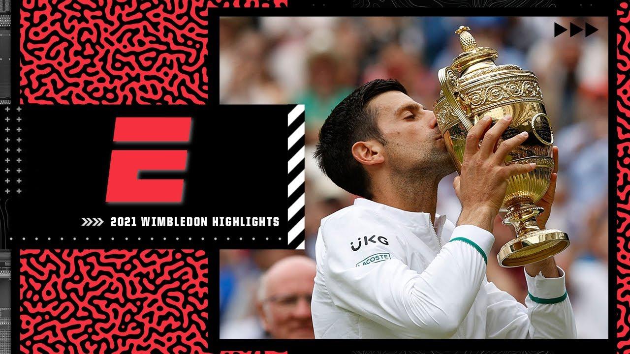Novak Djokovic wins Wimbledon to claim record-tying 20th Grand Slam victory | Wimbledon Highlights