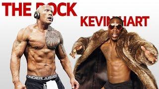 The Rock & Kevin Hart HILARIOUS Gym Motivation & Workout Videos