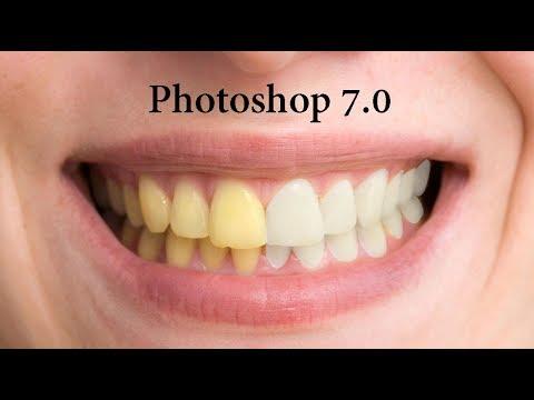 How to Brighten & Whiten Teeth in Photoshop 7.0 in Hindi / Urdu.