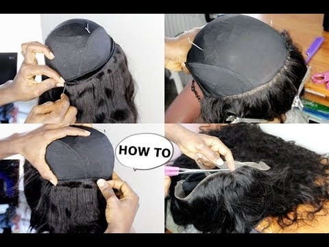 HOW TO : MAKE A WIG TUTORIAL FOR BEGINNERS & CHIT CHAT FT LONGQI HAIR