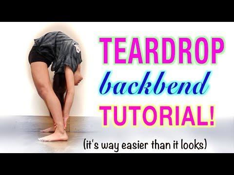 HOW TO DO A TEARDROP BACKBEND