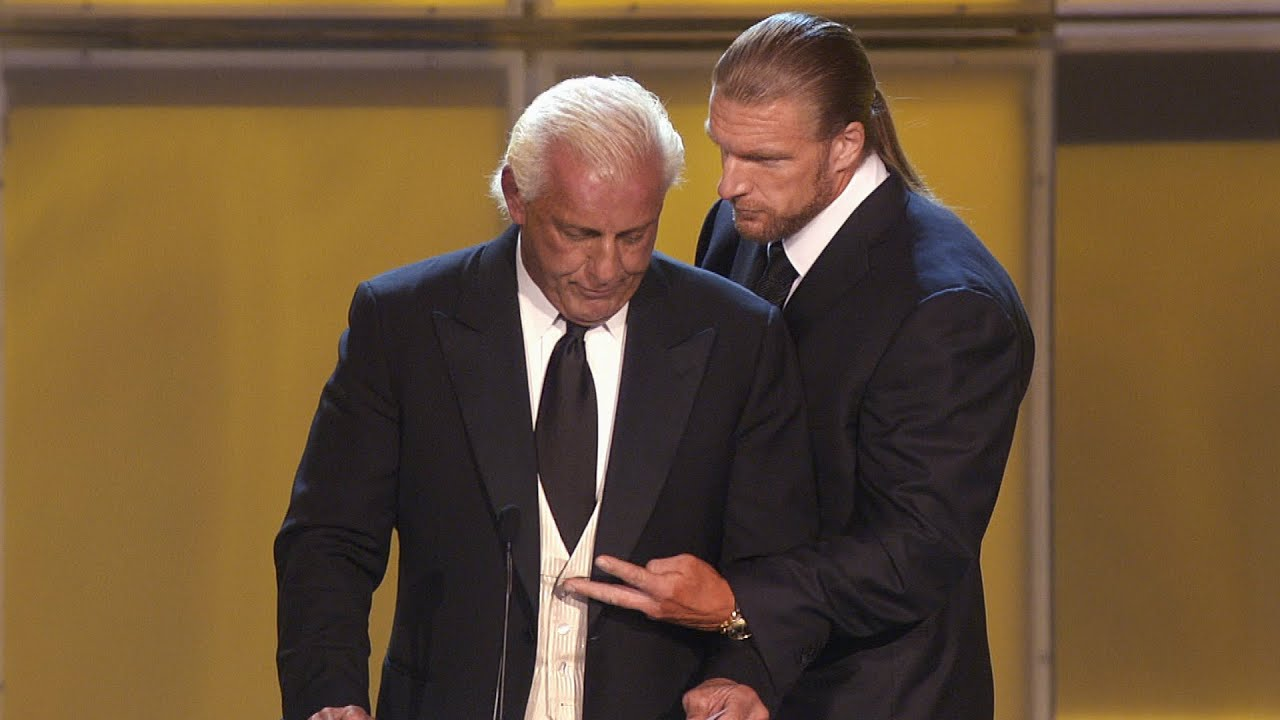 """Triple H recalls the """"worst moment ever"""" during Ric Flair's WWE Hall of Fame induction: WWE 24 extra"""