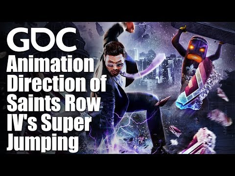 Super Powering the Saints: Animation Direction of Saints Row IV's Super Jumping