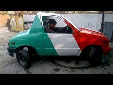 Zero Turning Radius Car(Made in INDIA).
