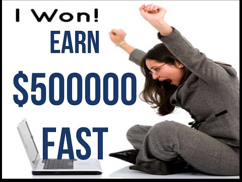 how to make 500 000 dollars fast – in minutes learn how to make a lot of money fast legally