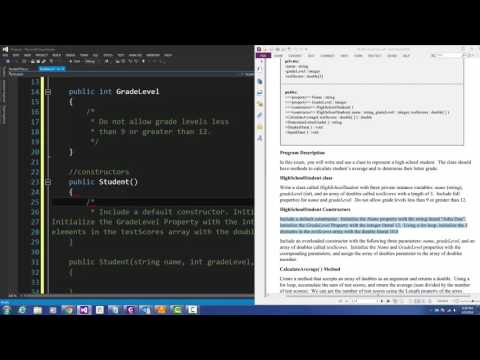 C#programming: Dynamic Memory Allocation - Storing Objects in Array