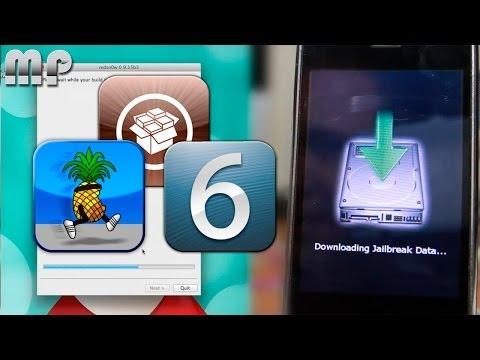 JAILBREAK Untethered 6.1.3/6.1.5 iPhone 3GS, iPhone 4, iPod 4G (Subir de 6.1.2 a 6.1.3)