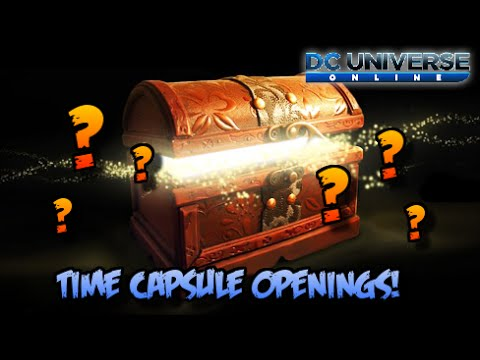 [DCUO] Time Capsule Openings!
