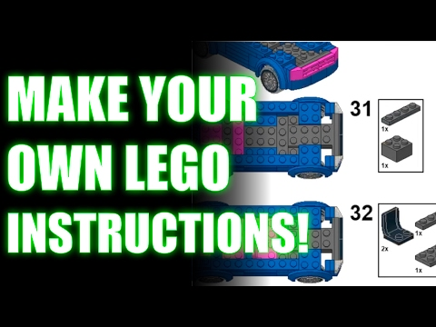 Lego Semi Truck Building Instructions Lego Classic 10705 How To