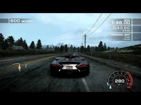 Need For Speed Hot Pursuit (2010) Lamborghini Reventon Time Attack