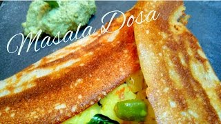 Masala Dosa Recipe │ Restaurant Style │Home Made simple recipe