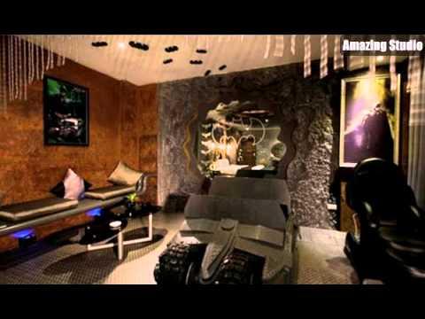 Batman Car Bedroom Designs