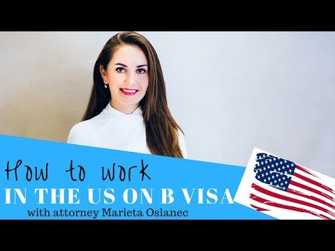 How to work in the US on B visa? 😮🇺🇸