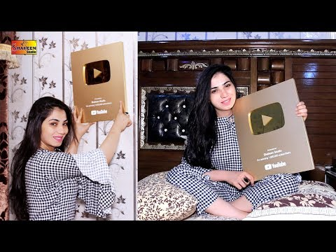 Xxx Mp4 Mehak Malik Alhamdulillah Got Something Special From Youtube Gold Play Button 3gp Sex