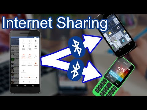Share internet via Bluetooth | Fix Bluetooth internet tethering or Bluetooth Hotspot | To Old Nokia