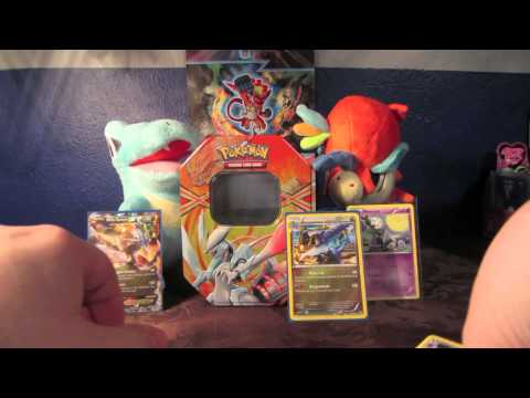 White Kyurem EX Power Collector's Tin Opening