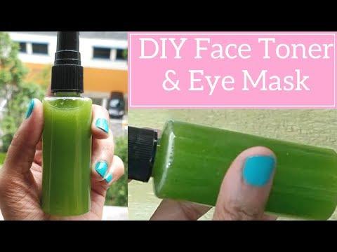DIY Toner for Face | Cucumber lemon toner for clear skin | DIY Rejuvenating Eye Mask