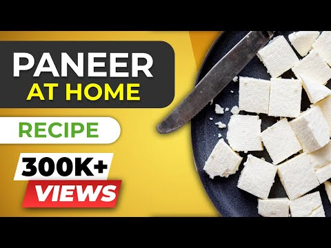 How to make PANEER at home for beginners - Homemade cottage cheese recipe | BeerBiceps