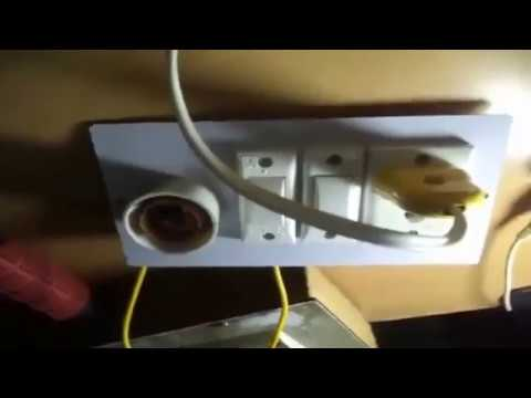 how to make a one holder and one socket extension board live tutorial