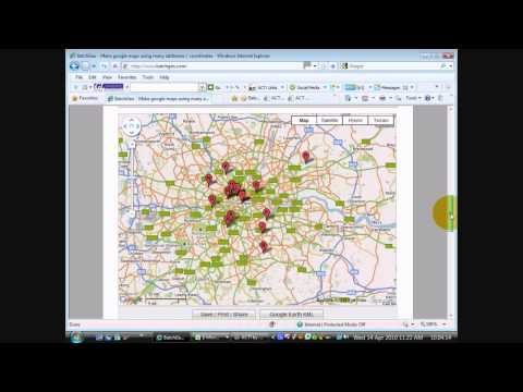 ACT! Software Training. How to display your ACT! contacts in a Google Map