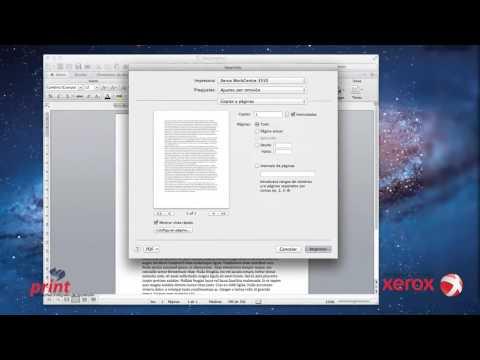 Configuracion Impresion Doble Cara en Mac OS