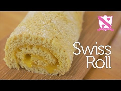Swiss Roll Recipe - In The Kitchen With Kate