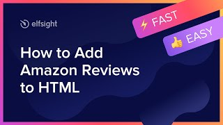 How to Add Amazon Reviews to HTML (2021)