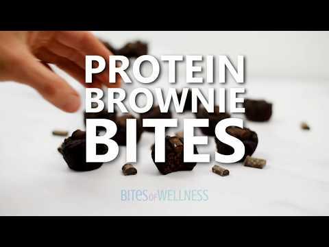Chocolate Protein Brownie Bites Recipe