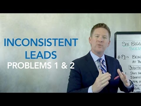 Inconsistent Lead Generation - Solving Real Estate's 6 Biggest Problems